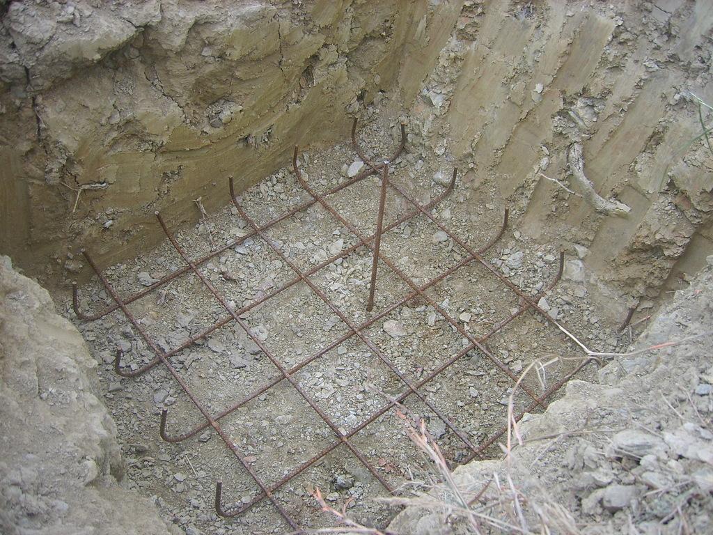 Les fondations - Comment couler un poteau en beton ...